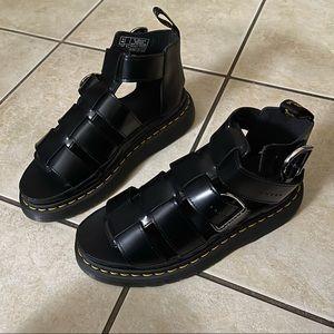 Dr.Martens Mackaye Leather Strap Sandals